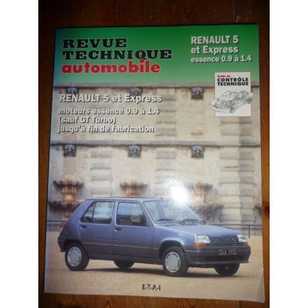 S5 Express Ess Revue Technique Renault