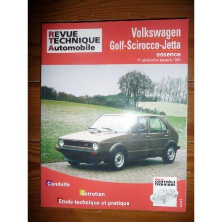 Golf Scirocco Jetta Revue Technique Volkswagen