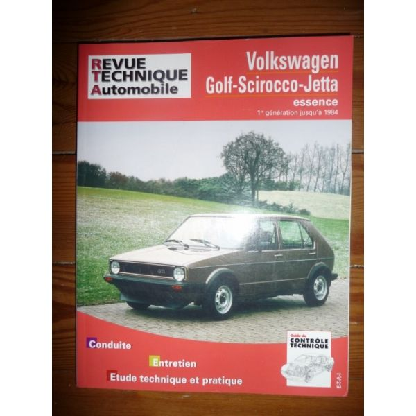 rta revues technique automobile volkswagen vw golf scirocco jetta 1 re g n ration jusqu 39 en 1984. Black Bedroom Furniture Sets. Home Design Ideas