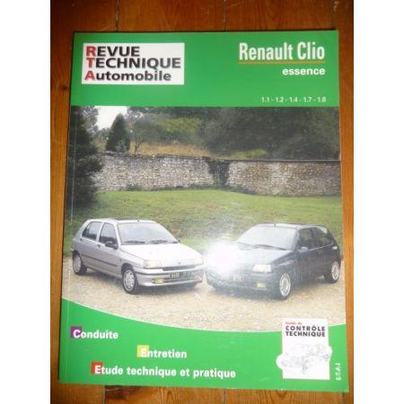 Clio Ess -98 Revue Technique Renault