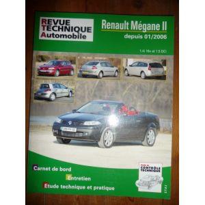 rta revues technique automobile renault megane ii depuis 01 2006 essence 16v et diesel dci. Black Bedroom Furniture Sets. Home Design Ideas
