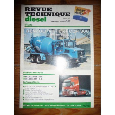 CCH300 6x4 Revue Technique PL Renault
