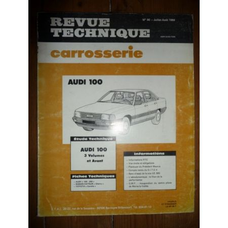 100 Revue Technique Carrosserie Audi