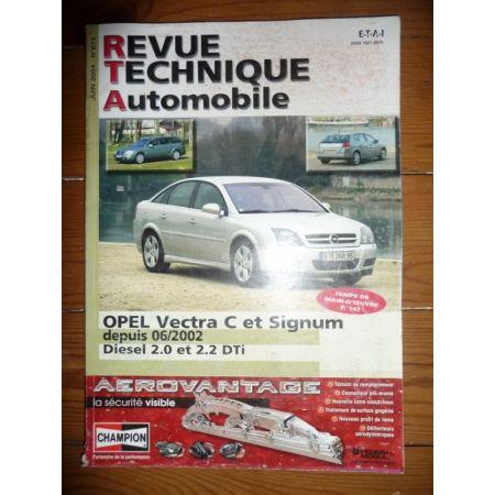 Vectra dep 06/2002 Revue Technique Opel
