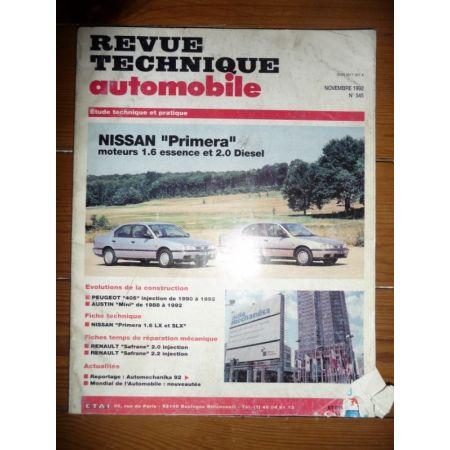 Primera Revue Technique Nissan