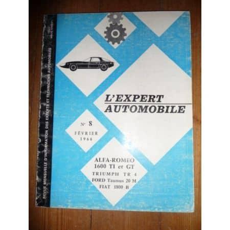 1600 TI GT Revue Technique Alfa Romeo