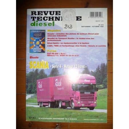 Série 4 12l Revue Technique PL Scania