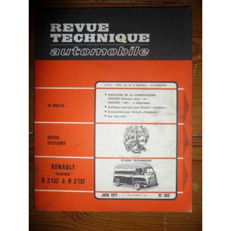 Estafette Revue Technique Renault