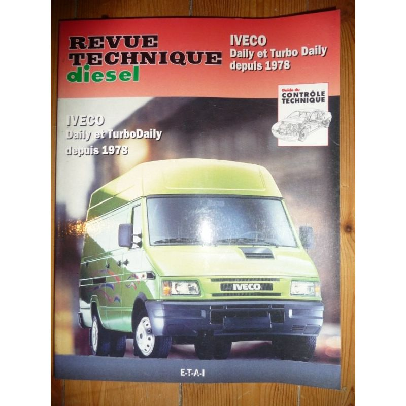 rta revue technique utilitaires iveco daily et turbodaily depuis 1978. Black Bedroom Furniture Sets. Home Design Ideas