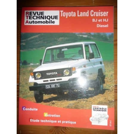 LAND CRUISER BJ HJ Revue Technique Toyota