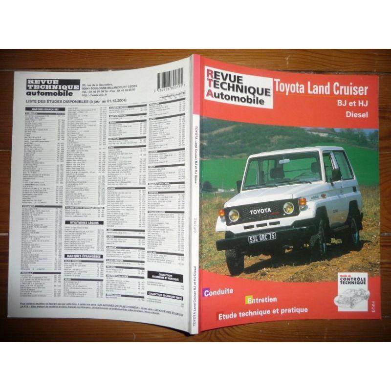 TOYOTA LAND CRUISER - Revue technique automobile
