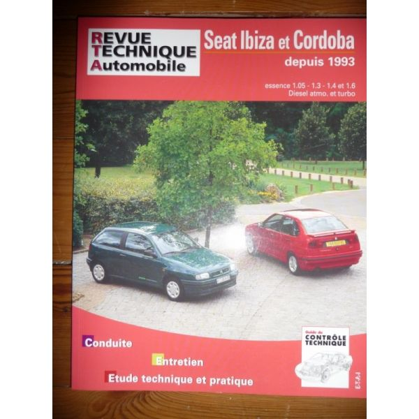 seat ibiza et cordoba depuis 1993 essence 1 3 1 4 et 1 6 diesel atmo et turbo. Black Bedroom Furniture Sets. Home Design Ideas