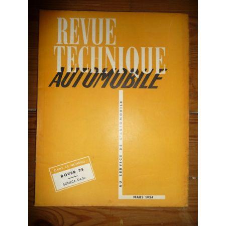 75 - DA50 Revue Technique Agricole Fiat Someca Rover