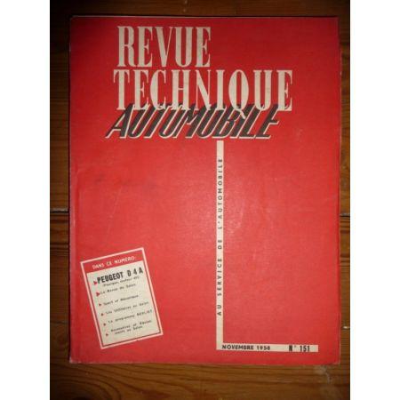 D4A Fourgon Revue Technique Peugeot