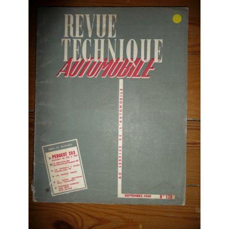 203 57-60 Revue Technique Peugeot