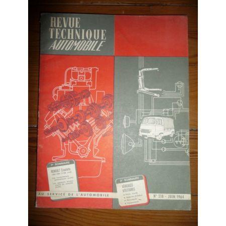 Estafette 62-64 Revue Technique Renault