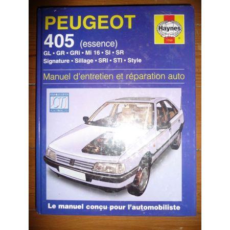 405 Ess Revue Technique Haynes Peugeot