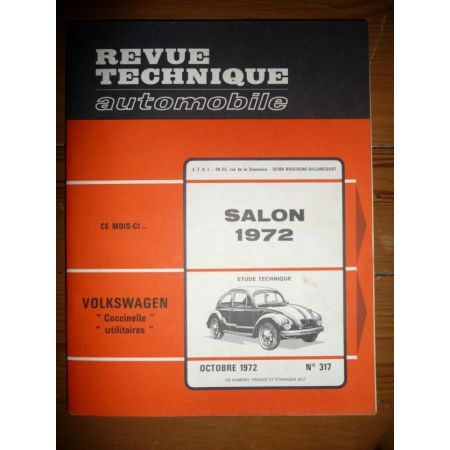 Salon 1972 Revue Technique Volkswagen