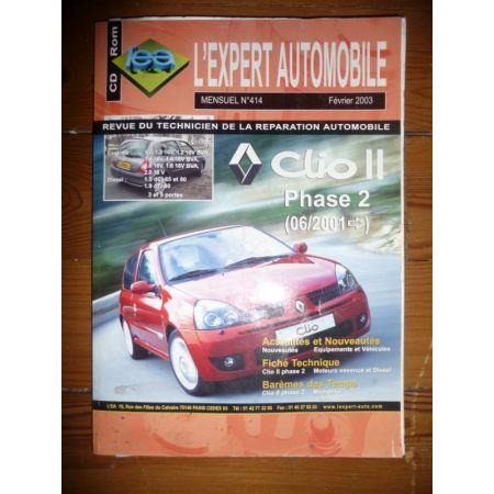 Clio II Ph 2 Revue Technique Renault