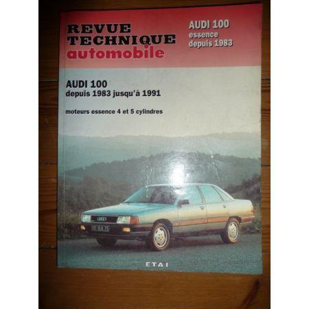 100 Ess 83-91 Revue Technique Audi