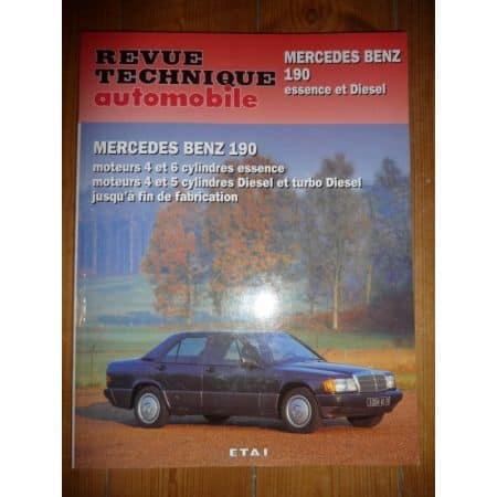 190 Revue Technique Mercedes