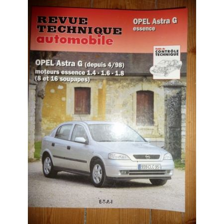 Astra G Ess Revue Technique Opel
