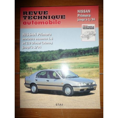 Primera -94 Revue Technique Nissan