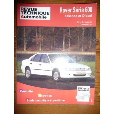 RTA Revue technique ROVER Série 600 Essence atmosphérique 2.0l et 2.3l et Turbo-Diesel