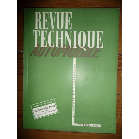 88 98 Revue Technique Oldsmobile