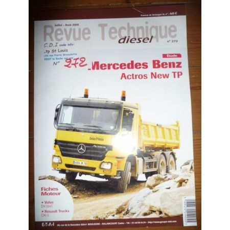 Actros New TP Revue Technique PL Mercedes