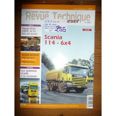 114 6x4 Revue Technique PL Scania