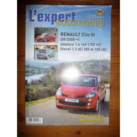 Clio 3 05- Revue Technique Renault