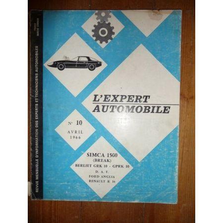 1500 Bk Revue Technique Simca Talbot