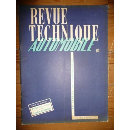 5T 3,5T V8 Revue Technique PL Ford