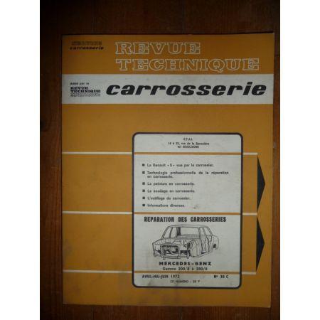 200 250 Revue Technique Carrosserie Mercedes