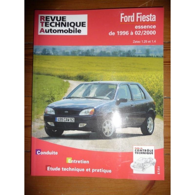 rta revue technique ford fiesta moteur essence zetec et 1 4 depuis 1996 jusqu 39 f vrier 2000. Black Bedroom Furniture Sets. Home Design Ideas