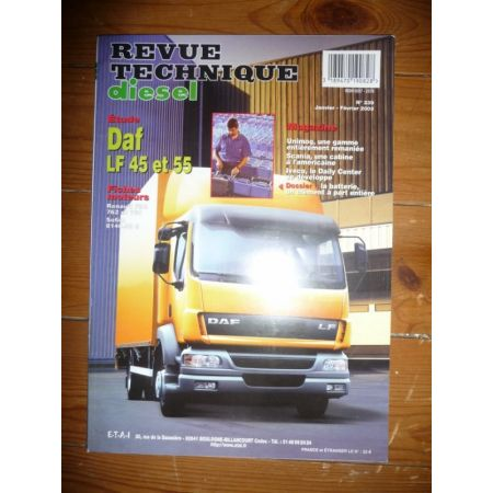 LF45 LF55 Revue Technique PL Daf