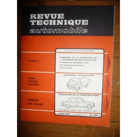 204 66-67 Revue Technique Peugeot