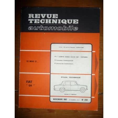 124 Revue Technique Fiat