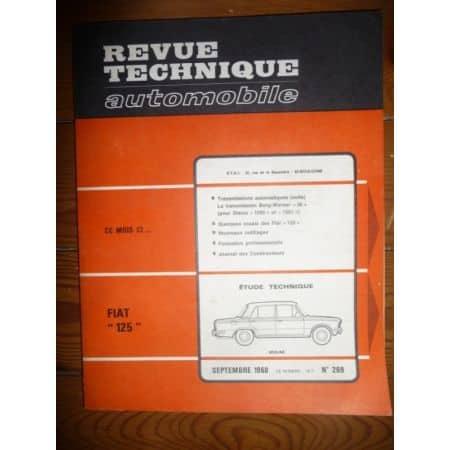 125 Revue Technique Fiat