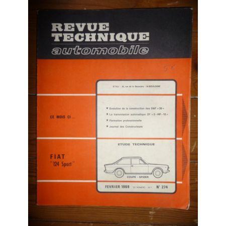124 Sport Revue Technique Fiat