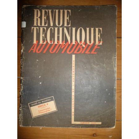 9 Aronde Revue Technique Simca Talbot
