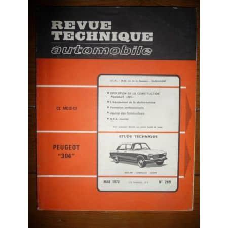 304 Revue Technique Peugeot
