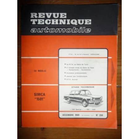 1501 1970 Revue Technique Simca Talbot