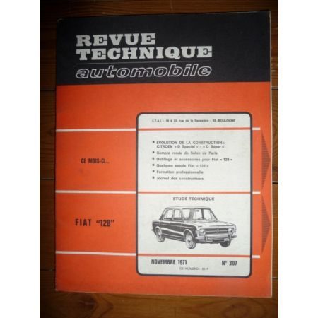 128 Revue Technique Fiat