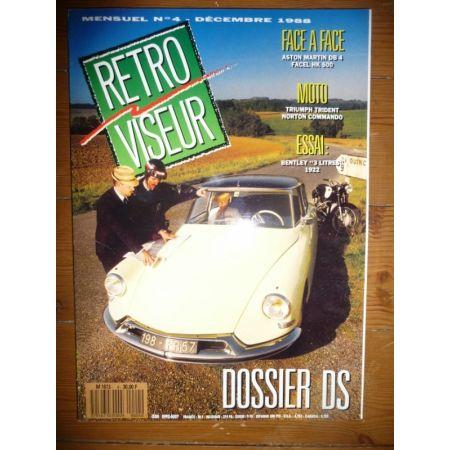 DS Revue Retro Viseur Citroen