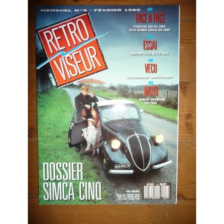 5 Revue Retro Viseur Simca