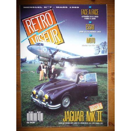 JAGUAR MKII Revue Retro Viseur