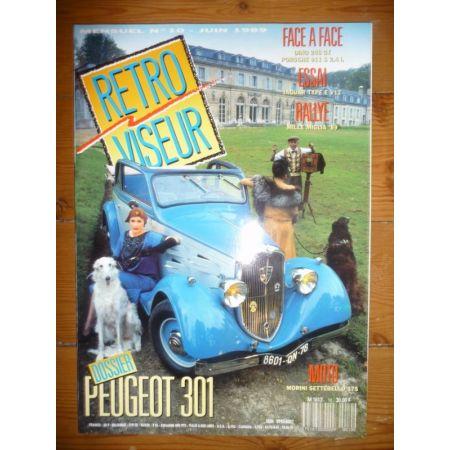 PEUGEOT 301 Revue Retro Viseur