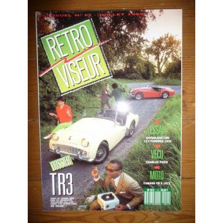 TRIUMPH TR3 Revue Retro Viseur